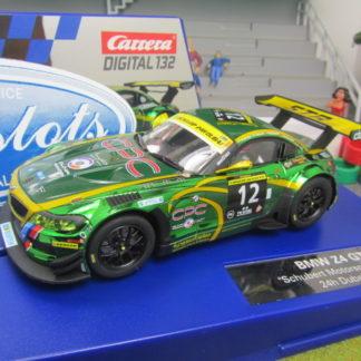 CARRERA 30699 DIGITAL 132 BMW Z4 GT3 SCHUBERT W/LIGHTS NEW 1/32 SLOT CAR