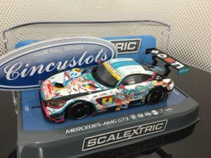 Scalextric C3852 Mercedes AMG GT3 Goodsmile Hatsune Miku (Anime)
