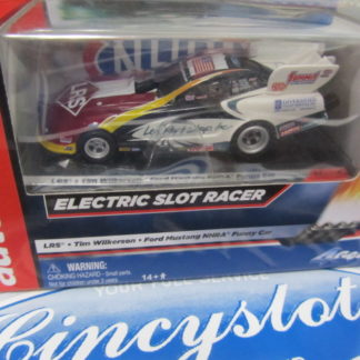 Auto World AW Funny Car NHRA LRS Tim Wilkerson Mustang NEW