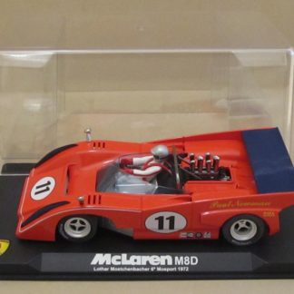 MG Vanquish CA6 McLaren M8-D #11 Mosport 1972 Paul Newman