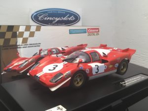 Carrera D124 23856 Ferrari 512S Berlinetta Filipinetti #3 Digital Slot Car.
