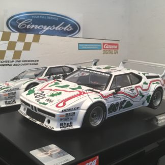 Carrera D124 BMW M1 Procar #201 Nurburgring Digital Slot Car.