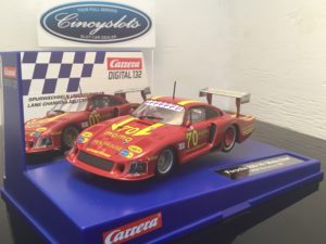 Carrera D132 30855 Porsche 935/78 Moby Dick Norising Digital Slot Car.