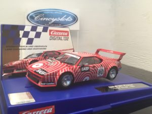 Carrera D132 30829 BMW M1 Procar BASF #80 Digital Slot Car.