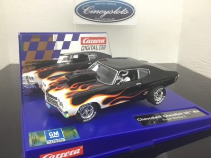 Carrera D132 30849 Chevrolet Chevelle SS 454 Super Stocker Digital Slot Car.