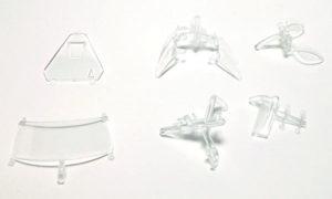 Sideways MK03 Riley MKXX Transparent Parts.