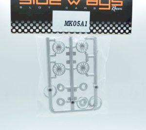 Sideways MK05A1 Dallara DP Rim Inserts RR Type w/Trim Rings.