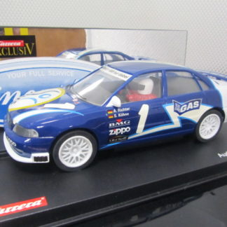 Carrera Exclusiv 20478 Audi A4 Team DSF. LIGHTLY USED