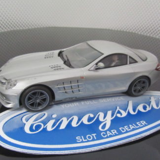 Scalextric 1/32 Silver Mercedes Benz SLR USED.