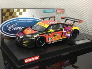 Carrera D124 23861 Audi R8 LMS Griffith Racing.