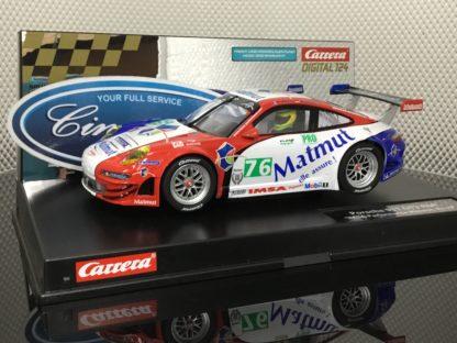 Carrera D124 23863 Porsche 911 GT3 RSR IMSA Matmut #76.