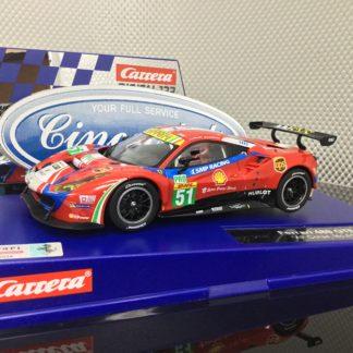 Carrera D132 30848 Ferrari 488 GTE AF Corse #51.