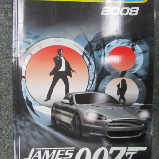 Scalextric 2008 Consumer Catalog James Bond.