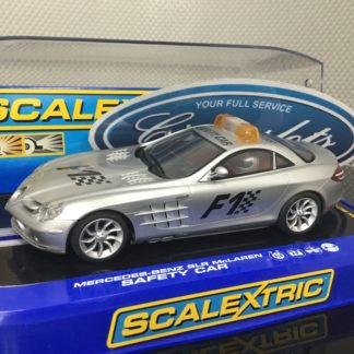 Scalextric C2756 Mercedes Benz SLR Mclaren F1 Safety Car. Light Use.