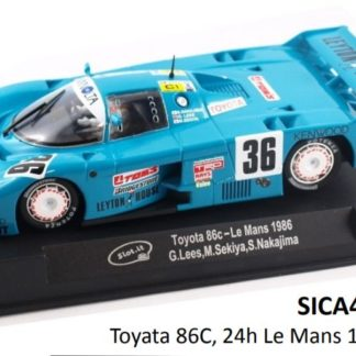 Slot.it CA41a Toyota 86c Le Mans 1986 1/32 Slot Car.