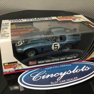 Monogram 85-4850 Shelby Cobra Daytona #5 Blue Helmet.