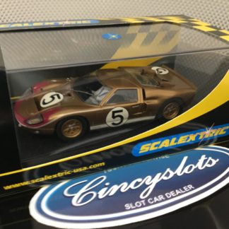 Scalextric C2465 Ford GT40 MKII 1966 Le Mans #5.