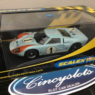 Scalextric C2464 Ford GT40 MKII 1966 Le Mans #1.