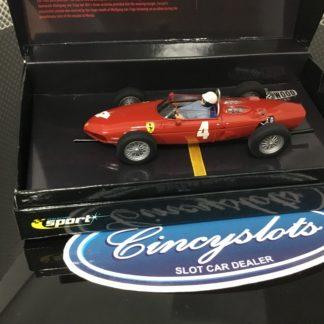 Scalextric Sport C2640A Classic Ferrari 156 F1 Phil Hill #4.