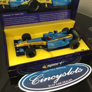 Scalextric Sport C2397AT Renault R23 F1 #7 Trulli.