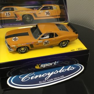 Scalextric Sport C2437AT Ford Boss 302 Mustang 1970 Trans Am #16.