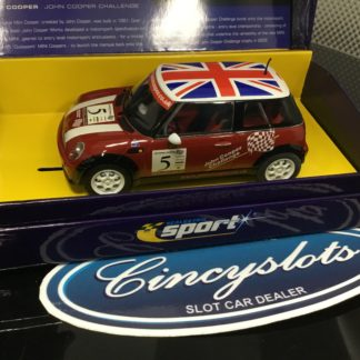 Scalextric Sport C2484A Mini Cooper John Cooper.