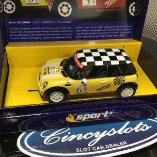 Scalextric Sport C2485A Mini Cooper John Cooper.