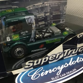 Fly 8005 Mercedes Benz Atego BP Racing Truck. Lightly Used, Looks New.