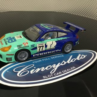Scalextric C2229 Paragon Porsche 911 GT3R. Lightly Used, Looks New.
