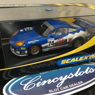 Scalextric C2461 Porsche 911 GT3R Luc Alphand #74. Lightly Used, Looks New!!