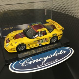 Fly A129 88025 Corvette C5R Petit Le Mans 2001. Lightly Used, Looks New!!