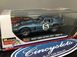Monogram 85-4850 Shelby Cobra Daytona Coupe 1964.  Lightly Used, Looks New!!