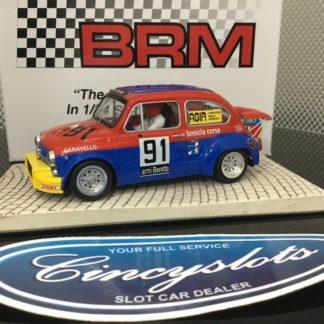 """BRM BRM087 FIAT Abarth 1000TCR Brescia Course #91 """"Mini Car' Series."""