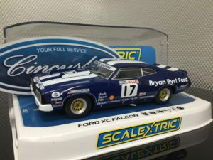 Scalextric C3923 Ford Falcon 1978 Bathurst Johnson 1/32 Slot Car.