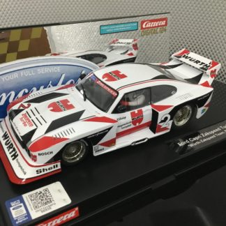 Carrera D124 23858 Ford Capri Turbo Zakspeed 1/24 Slot Car.