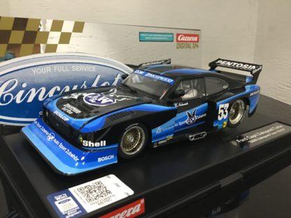 Carrera D124 23859 Ford Capri Turbo D & W Zakspeed 1/24 Slot Car.