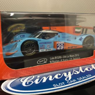 Slot.it CA39b Lola B12/80 Gulf #29 24hrs of Le Mans. 1/32 Slot Car.