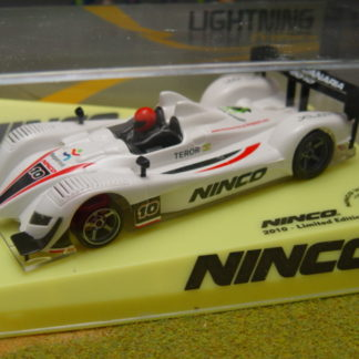 Ninco 50571 Acura LMP Lightning 2010 Ninco World Cup Slot Car.