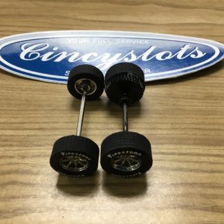 Scalextric Ford Mustang Axle Set for 1/32 Slot Car.