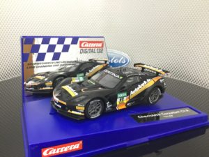 Carrera D132 30845 Chevrolet Corvette C7R 1/32 Slot Car.