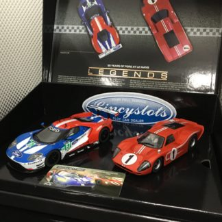 Scalextric C3893A 50 Years of Le Mans Ford GT MK.IV And GTE. 1/32 Slot Car.