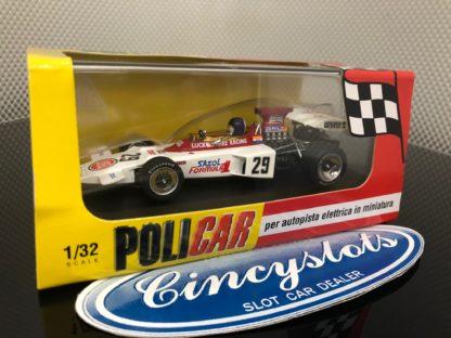 Policar PCAR02E Lotus 72 Lucky Strike Racing Brands Hatch. 1/32 Slot Car.