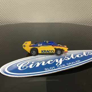 TYCO F1 INDY KRACO #18 HO SLOT CAR, LOOKS NEW.