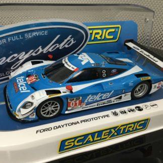 Scalextric C3948 Ford Daytona Prototype 2014 Sebring Ganassi Racing, 1/32 Slot Car.