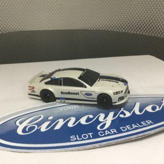 AFX MEGA G ECOBOOST FORD FUSION NASCAR HO SLOT CAR.