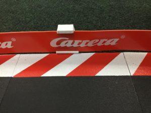Custom 3D Printed Guardrail Clips for Carrera Slot Car