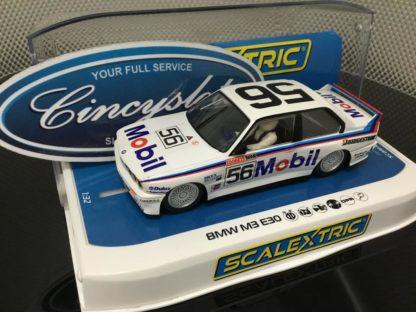 Scalextric C3929 BMW E30 M3 1988 Peter Brock Bathurst #56 1/32 Slot Car.