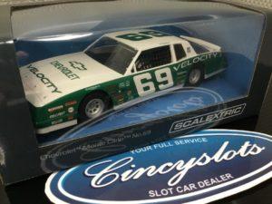 Scalextric C3947 Chevrolet Monte Carlo 1986, 1/32 Slot Car.