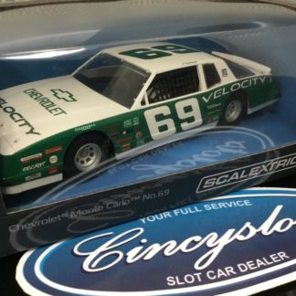 Scalextric C3947 Chevrolet Monte Carlo 1986, 1/32 Slot Car.