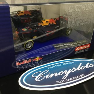 Carrera D132 30818 Max Verstappen Red Bull TAG Heuer F1 1/32 Slot Car.
